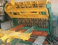 Mine timbering mesh welding machine