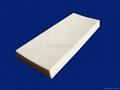 Alumina Trapezoid Lining Plate / Tile