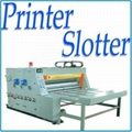 Carton printing slotting machine water