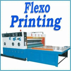 multicolor corrugated box printing machine