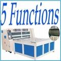 Corrugated board rotary die-cutting