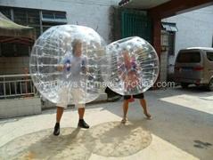 Transparent Bumper Ball (XRBP-123)