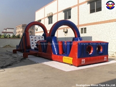 Inflatable Obstacle Game (XROB-427)
