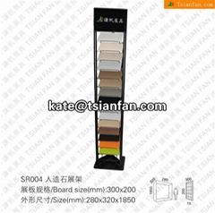 SR004 Customized Quartz Stone Display Tower