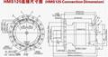HMS125 Hydraulic Motor