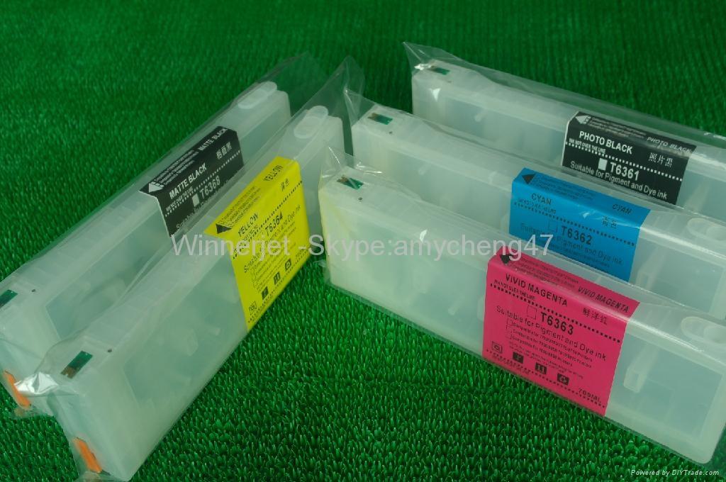Epson 7700 9700 可填充墨盒 3