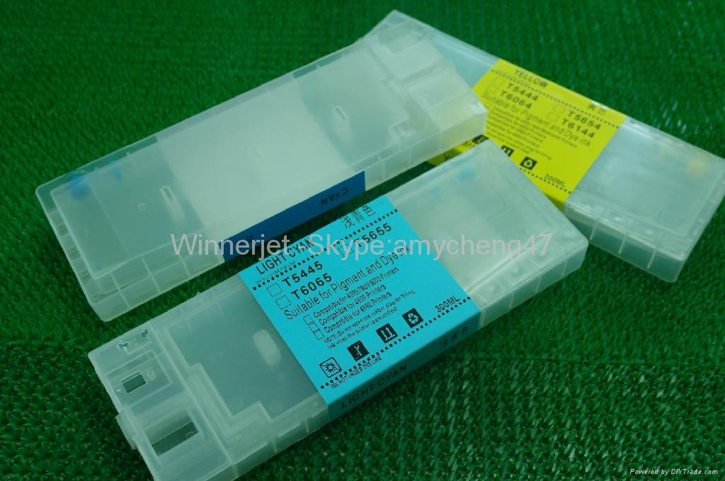 For Epson 4800 可填充墨盒带可复位芯片 2