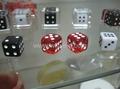 水晶胶骰子色子