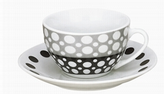 220CC CUP AND SAUCER