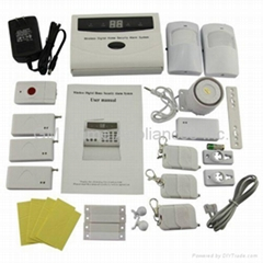 Wireless PIR Home Security Burglar Alarm System Auto Dialing Dialer