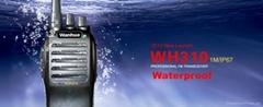WH310 Waterproof Portable Walkie Talkie
