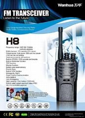 H8 Professional Two Way Radio