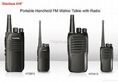 HTD813 & HTD 815 Handheld FM Walkie Talkie