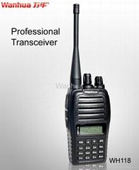 WH118 Professional FM Transceiver