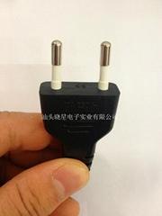意大利认证AC插头电源线
