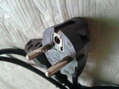 欧式CE认证插头电源线