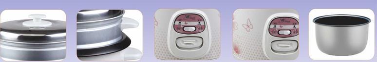 cylinder rice cooker 0.5L-10L 3