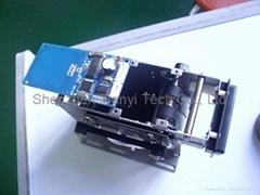motor card collector accepter RFID module mountable