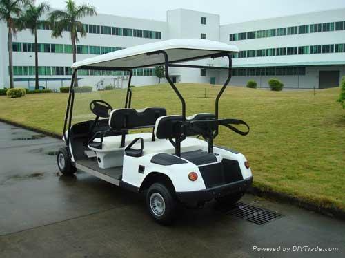 深圳电动高尔夫球车 2