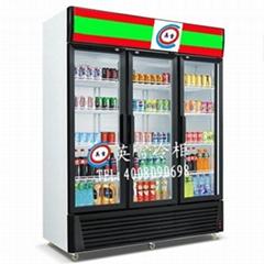 超市三门展示冰柜