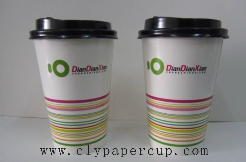 Hot drink paper cup 4