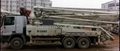 selling used concrete pump truck