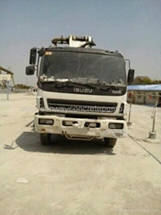 Sell 2004 ZOOMLION Second Hand Concrete Pump Truck-ISUZU Chassis