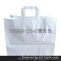 生产100克手提袋专用白牛皮纸 1