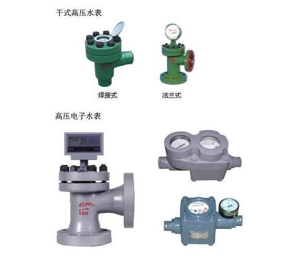 高壓水表系列