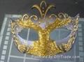 金粉皇冠面具