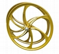 Magnesium Wheels for Mountain Bicycle