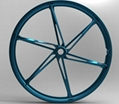 20' folding bicycle wheel
