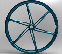 20' folding bicycle wheel