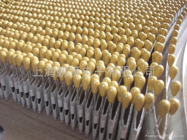 DIP Tantalum capacitor 6.3V 2
