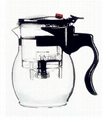 Hand-blown Glass Teapots/Coffee Pots