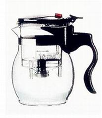 Hand-blown Glass Teapots/Coffee Pots