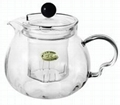 Heat-resistant Borosilicate Glass Teapots/Coffee Pots 2
