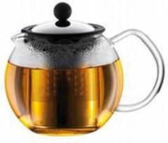 Hand-blown Heat-resistant Borosilicate Glass Teapots/Coffee Pots