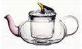 Hand-blown Heat-resistant Borosilicate Glass Teapots/Coffee Pots 3