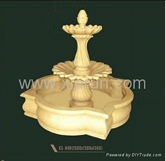 2013 High Standard Artificial Sandstone Marble Carving Water Fountain