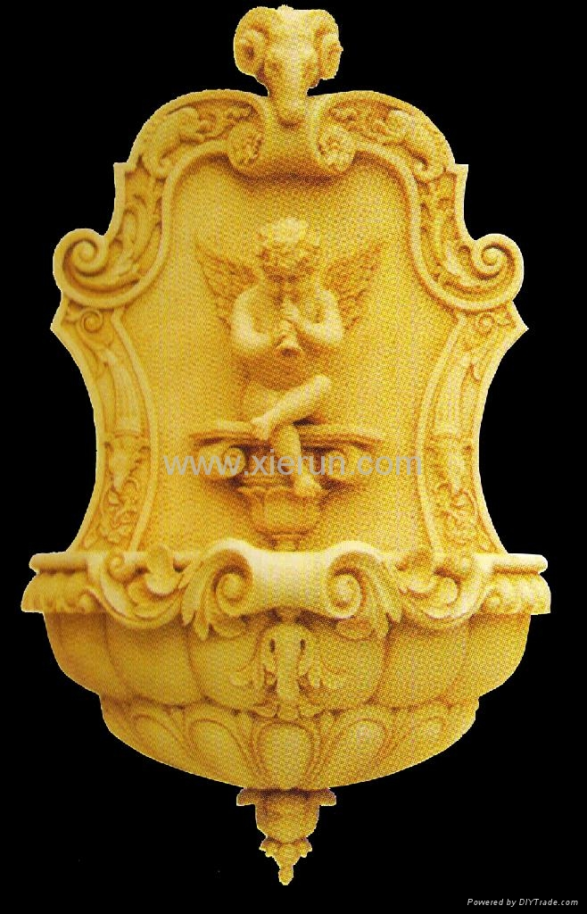 2013 High Standard Artificial Sandstone Marble Carving Water Fountain 3