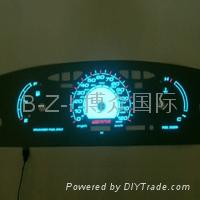 EL冷光源 摩托車汽車儀表盤背光源 2