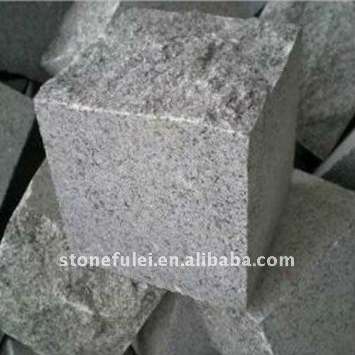 Chinese Light Grey Granite G602 Cube Stone  1