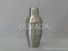 supply stainless steel 350ML cocktail shaker