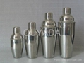 supply stainless steel 350ML cocktail shaker 2