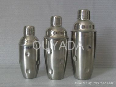 supply stainless steel 350ML cocktail shaker 3