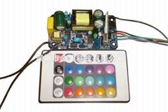 10W自控紅外IR無線RF遙控控制RGB電源