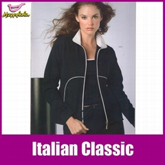 Black Jersey Women Latest Tracksuits