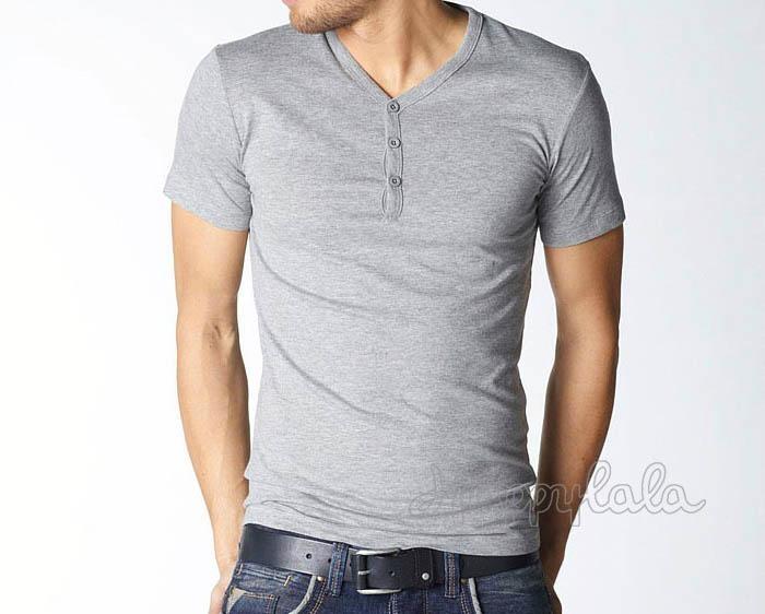 Short Sleeve V Neck Design Custom Shirt Ya F013