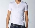 Short Sleeve V Neck Design Custom Shirt 4